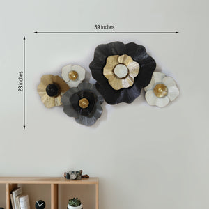 The Sunflower Story Metal Wall Art Panel