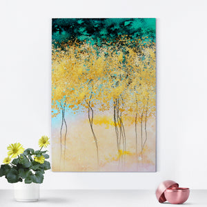 The Mystery Forest Framed Canvas Print