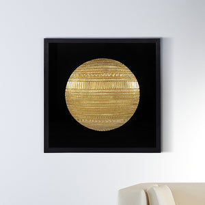 The Coin of Mesopotamia Shadow Box Wall Decoration Piece