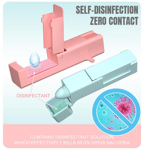 Contactless Hygiene Safety Device - Pink