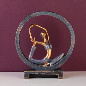 The Naukasana Yogi Table Decoration Showpiece
