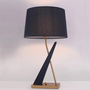 The Evening Charm Stainless Steel Decorative Table Lamp
