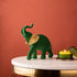 The Royal Velvet Elephant Table Decoration Showpiece - Small