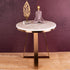 The Three Legged Rose Gold Accent Table (Stainless Steel)