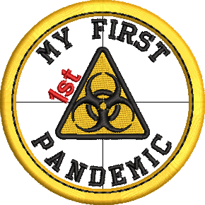 My 1st Pandemic Adult Merit Badges Embroidery File