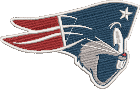 Corona virus face mask embroidery New Englad Bugs (Patriots) Parody Embroidery Design (2 Sizes!)