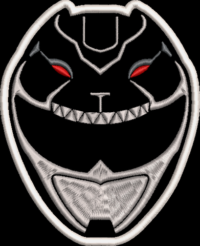 Power Rangers HyperForce Helmet Embroidered Patch