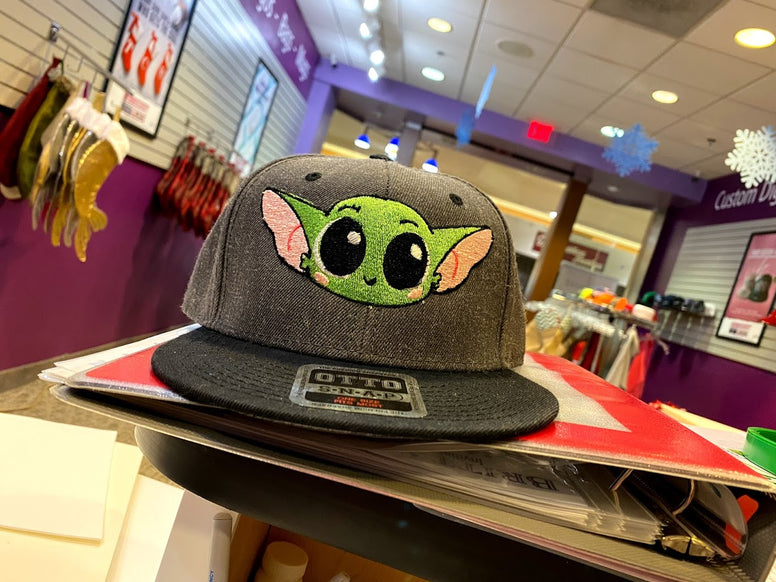Baby Yoda Embroidered Hat - FreezetheComedian