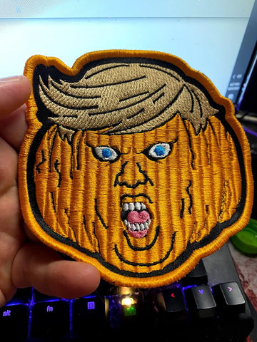 Trumpkin Embroidered Patch