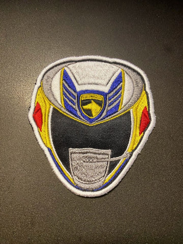 Power Rangers SPD Helmet Embroidered Patch