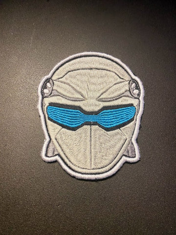 Power Rangers Beast Morphers Helmet Embroidered Patch
