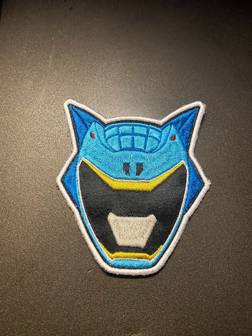 Power Rangers Dino Charge Helmet Embroidered Patch