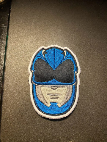 2017 Movie Power Rangers Helmet Embroidered Patch
