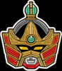 Mighty Morphin Power Rangers Zords & Megazords Part 1 Helmet Embroidered Patch