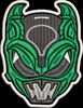 Psycho Rangers Helmet Embroidered Patch