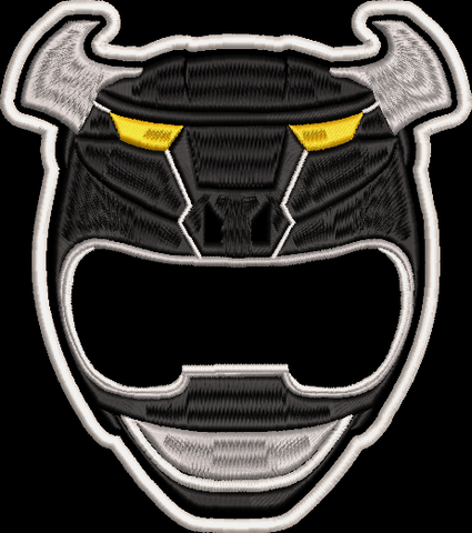 Power Rangers Wild Force Helmet Embroidered Patch