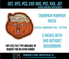 Trumpkin Pumpkin Patch Embroidery File