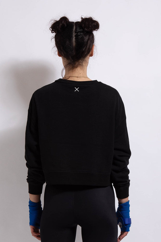 Time Out Cropped Sweat