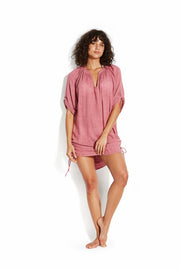 Beach Basics Textured Gauze Cover Up