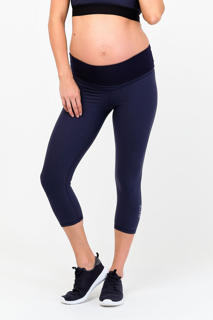 dk active Lotus Maternity Midi Tight - Navy
