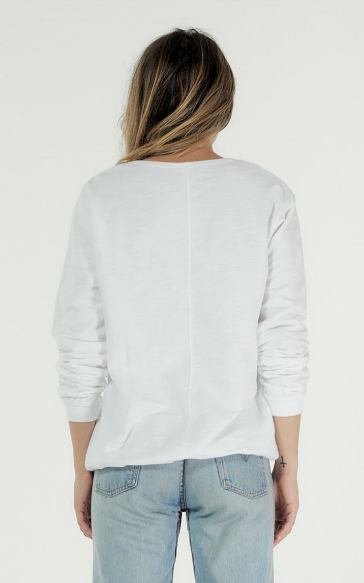Clé Lucy Sweater - White