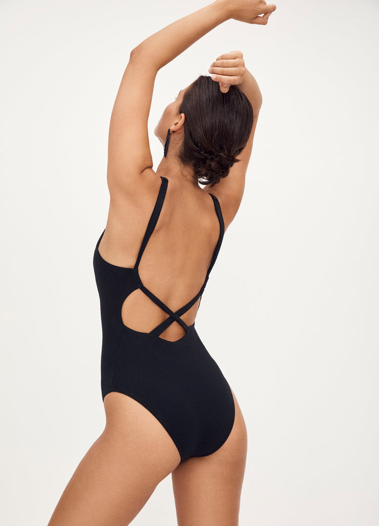 Jetset High Neck One Piece - Deep Navy