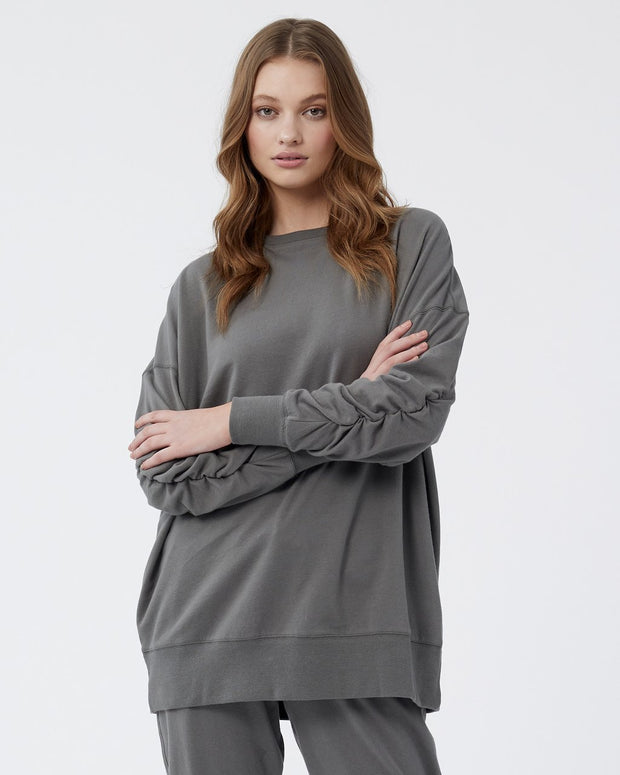 Willow Tunic Sweater - Sedonia Sage