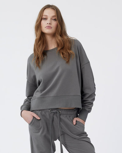 Lana Crop Sweater - Sedonia Sage