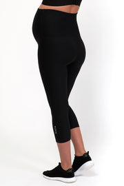 dk active Lotus Maternity Midi Tight - Black