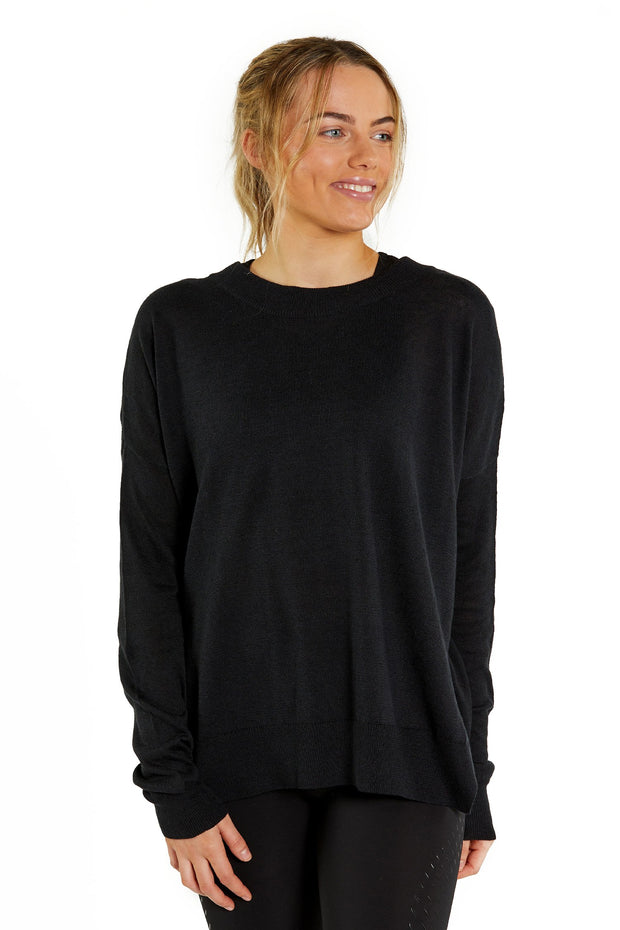 Celestial Knit Jumper - Black