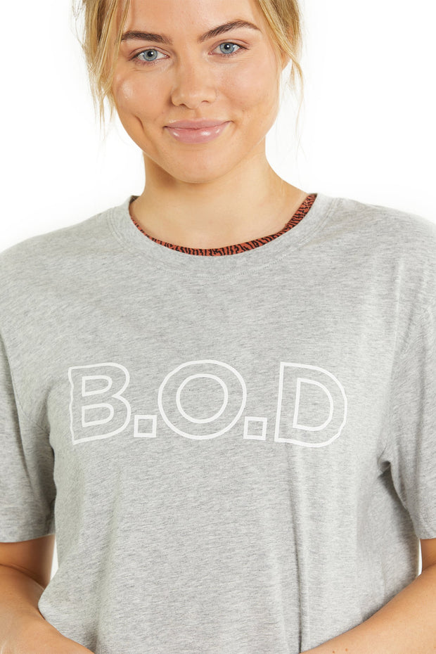 B.O.D. by Finch - Dawn Tee - Grey Marle