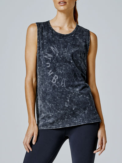 Easy Rider Muscle Tank - Crew-wash