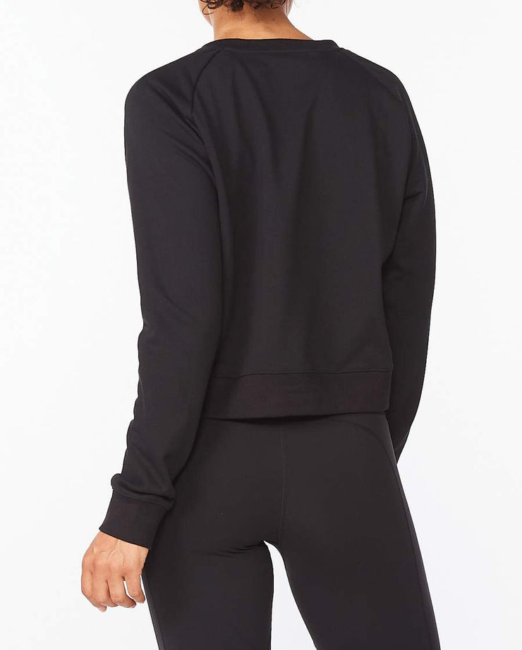 Form Crop Crew - Black