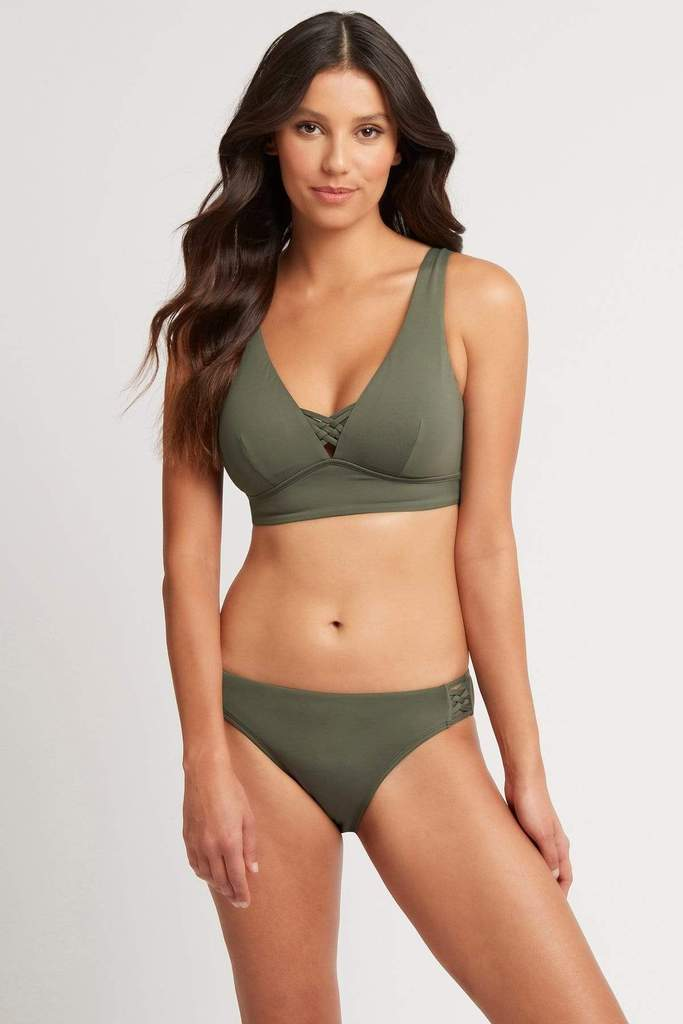 Bella Long Line Tri Bra