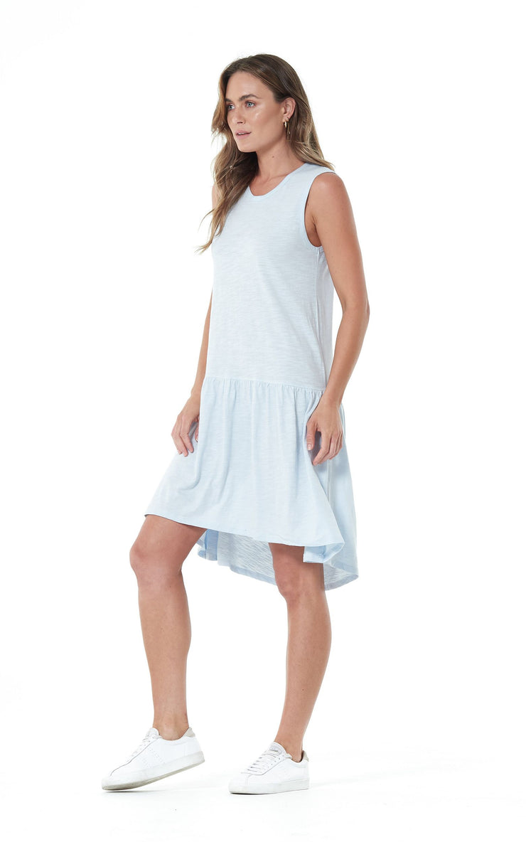 Clé Hailey Dress - Ice Blue