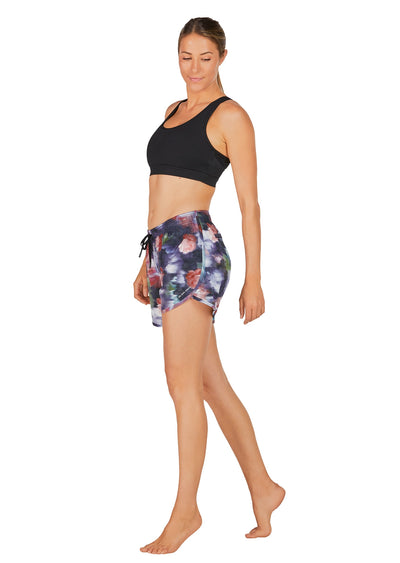 Evie Longer Length Training Short - Gone With The Wind