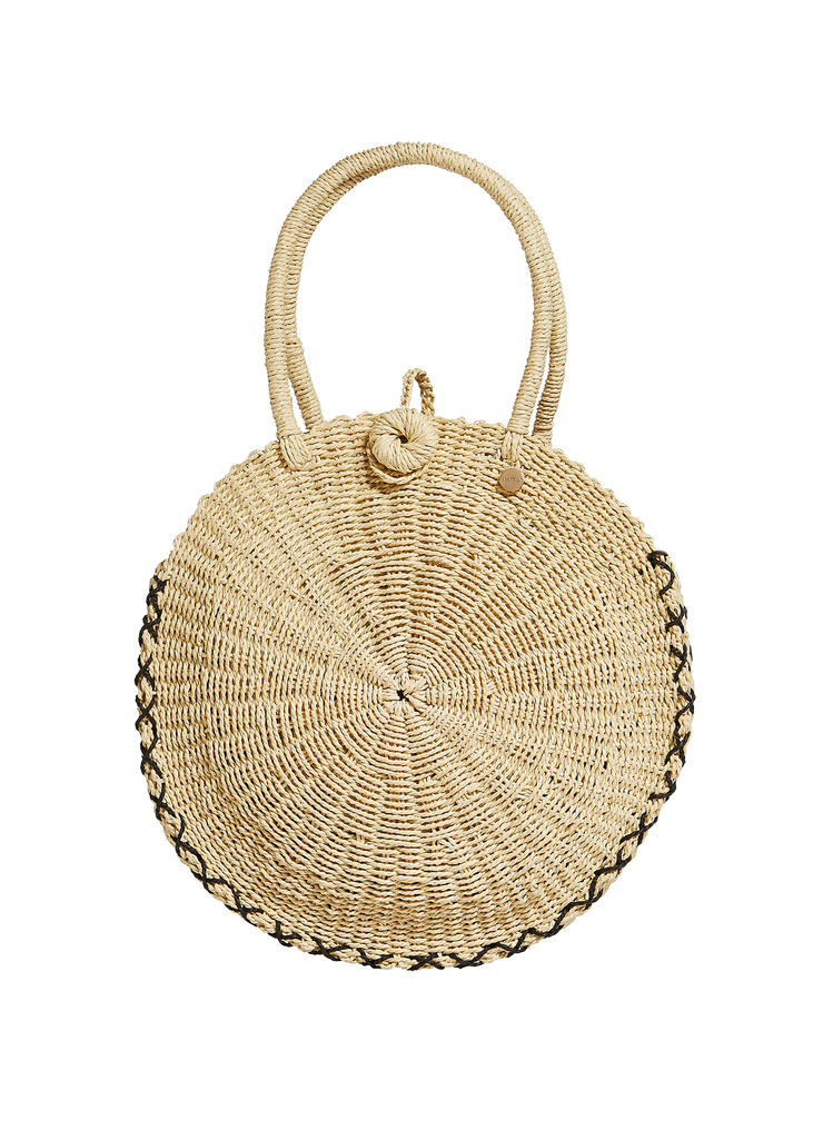 Round Beach Basket