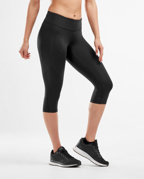 Womens Mid-Rise Compression 3/4 Tight