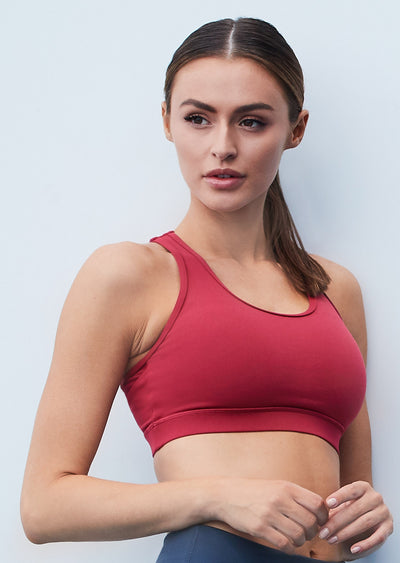 Leo Hi-Tech Sports Bra - Rose Bud