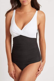 Valentina Cross Front Tankini Top