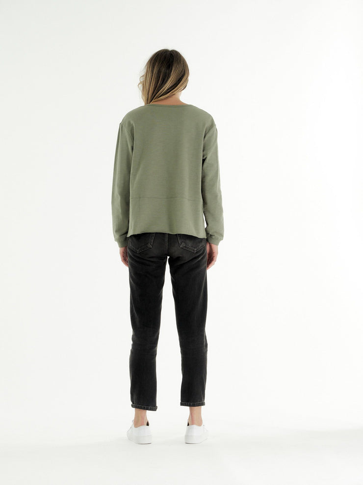 clé Margo Sweater - Khaki