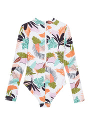 Tropical Punch Long Sleeve Surf Suit