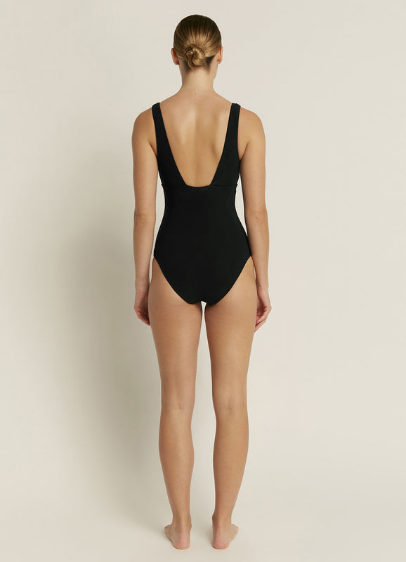 Jetset D_DD Plunge One Piece - Deep Navy