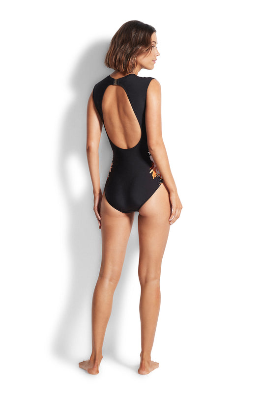 Bora Bora Cap Sleeve One Piece