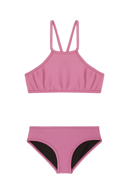 Seafolly Girls Summer Essential Tankini - Cashmere Rose
