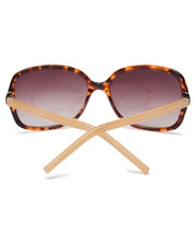 Seafolly Currumbin Sunglasses - Dark Tort/Nude