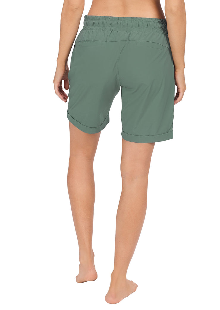 Wanda Longer Length Short - Jade