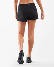 XVENT 4 Inch Run Short - Black