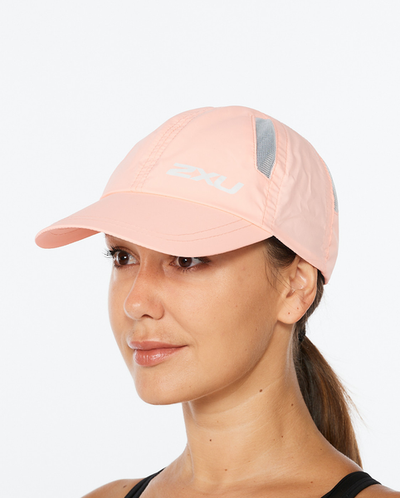 Run Cap - Pop Coral