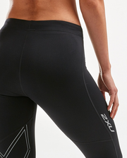 Aspire 3/4 Compression Tight - Black/Silver